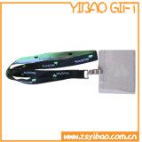 プラスチックバックル(YB-LY-15)が付いているカスタム・カードの締縄