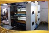 6 de Machine van de Druk van Flexo van de Hoge snelheid van de kleur met Ceramische Anilox