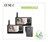 """3.5 """" TFT Farbbildschirm-drahtlose videowechselsprechanlage-Türklingel-Tür-Telefon-Gegensprechanlage"""
