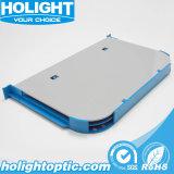12光ファイバ装置のためのポートの光ファイバスプライスの皿