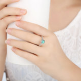 Atacado Fabricantes Sterling Opal Silver Ring