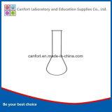 Balão de vidro de laboratório, pescoço comprido, Boro 3.3