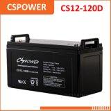 Excelentes baterias de gel de ciclo 12V120ah com ciclo prolongado Cg12-120