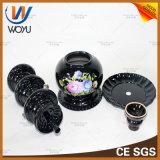 Glaspfeife-gesetzter Tabak-Melassevaporizer-Glaswasser-Rohr Shisha Huka