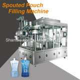 Máquina tampando de enchimento do malote do bico para a água mineral