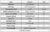 """3.2 """" QVGA TFT LCDのモジュール4ワイヤー抵抗接触パネルは含んでいた"""