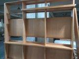 Buch-Regal-hölzerne Standplatz-Zahnstangen-Bildschirmanzeige-Regal-Holz-Möbel