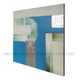 Handgemachtes Farbanstrich-abstrakte Kunst-Drucken auf Segeltuch für Wohnzimmer-Dekoration