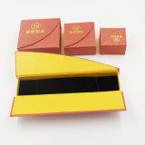 Rectángulo de empaquetado de la joyería del papel especial del papel acanalado (J59-E)