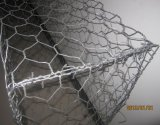 Engranzamento de fio revestido de Galvanized/PVC Gabion