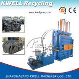Vertikale Schrott-Gummireifen-Ballenpresse-Hochleistungsmaschine/hydraulische Ballenpresse