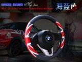 Крышка рулевого колеса автомобиля PU способа кожаный