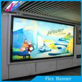 Alto brillo con retroiluminación de PVC Flex Banner para una muestra gratis