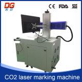 Máquina caliente de la marca del laser del CNC del CO2 del estilo 10W para el plástico