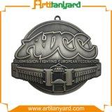 Médaille d'argent d'antiquité de modèle de propriétaire