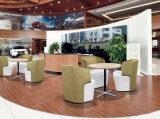 현대 수신 단 하나 직물 회의 소파 의자
