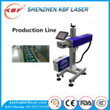 macchina della marcatura del laser del CO2 10W per i materiali del metallo