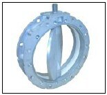 De Pneumatische Vleugelklep van Sicoma SD200mm voor Cement, Poeder, Steenkool