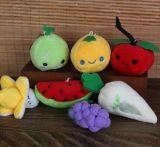 Populares de peluche suave felpa de los alimentos vegetales y juguetes