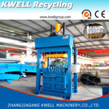 Wolle-Presse-Ballenpresse/altes Tuch, das Maschinen-/Lappen-Ballenpresse/hydraulische Ballenpresse zusammenrollt