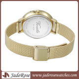 OEM Mesh Belt Band Ladies Stainless Steel Wrist Watches
