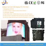 Affichage vidéo extérieur imperméable à l'eau annonçant l'écran de DEL de SMD3535 P6 (P8, P10)