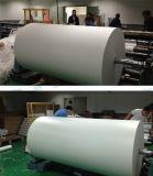 """La qualité Non-Enroulent secs rapides """" le papier de transfert de sublimation de teinture de jet d'encre de la chaleur du roulis 45GSM 64 enorme pour l'impression de tissus"""