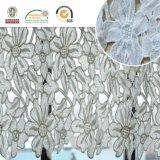 Disegno più nuovo di vendita caldo per le tessile domestiche ed il tessuto nuziale E20035 del merletto
