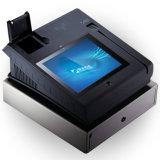 タッチ画面のタブレット58mm/80mmの熱プリンターが付いている人間の特徴をもつPOS機械