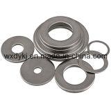 La norme DIN 125 Acier inoxydable 304 316 Plain de rondelles plates