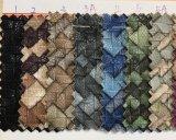 Venda de tecidos de couro artificial de grãos para sapatos, bolsas, Garment, decoração. (Sh-Y17)