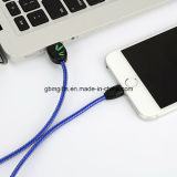 소형 OTG 케이블 1m를 비용을 부과하는 1 USB에 대하여 8 Pin에 USB 2