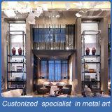 Индивидуальная античная латунная нержавеющая сталь Multi Dislay Shelf Home Furniture