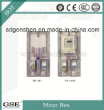 Matériel IP44 monophasé de qualité supérieure Matériau PC Waterproof Énergie électrique / Power Meter Box avec 3c, Ce, Certificat TUV