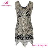 Sequin de Deco dos vestidos de noite das mulheres de Gatsby do Shimmer Hem irregular do grande