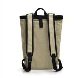Saco retro do estudante da trouxa do curso da grande capacidade de saco de ombro do saco da lona