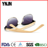 Солнечные очки естественной оптовой продажи изготовления Китая Bamboo (YJ-1505)