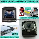 "Hot Sale 2.4 ""Car Dash GPS Car Black Box com GPS Tracking Route GPS Coodinate Limite de velocidade Lembrar, FHD 1080P Car DVR, HDMI fora do controle de estacionamento do carro Vem com DVR-2415"