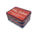 Жестяная коробка подарка рождества для упаковки еды