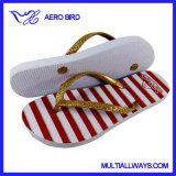 PE niñas del flip-flop con escarcha en las correas (15I045)