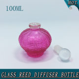 100ml Esfera Fancy Clear Crystal Ball Stopper Glass Reed Difusor Garrafa