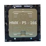 A elevada precisão P5 morre a tela de indicador Rental interna do diodo emissor de luz da cor cheia de carcaça