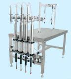 Halfautomatische men leidt het Vullen van het Water/van het Sap/van de Olie Machine