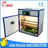 Incubateur automatique approuvé d'oeufs de poulet de la CE de Hhd à vendre (YZITE-8)