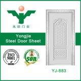 Yongjieはステンレス鋼のドアの皮を押した