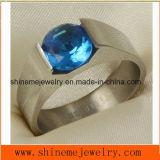 Shineme cable cortado a la moda de joyería joyas Anillo de titanio (TR1837)