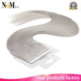 Remyの人間の毛髪の付着力の皮のWeft毛16のブラジルのまっすぐなバージンのRemyの毛の拡張のテープ18k# 18の20の22インチの