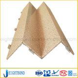 Comitato di alluminio del favo di figura del grano speciale della pietra per il rivestimento della parete