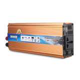 Chargeur de voiture 2000W Power Inverter DC 12V à AC 220V Modified Sine Wave Converter avec USB