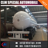 3axles 20mt 50000L LPG Trailer Tank Liquid Gas Tanker Semi-reboque